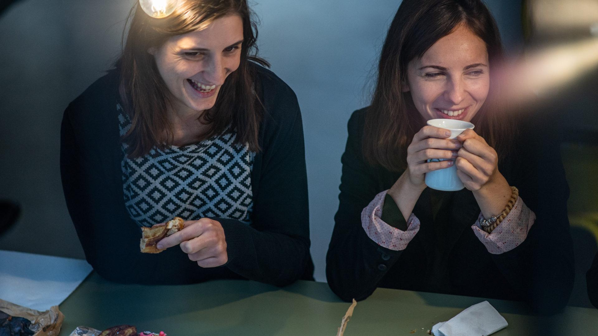 Deux conseillères en financement de projets d'innovation à Grenoble