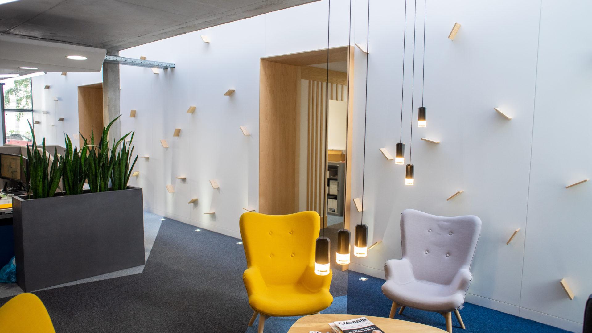 Salle de réunion chez Absiskey Toulouse, pour le financement de projets innovants